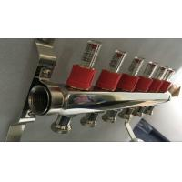 Buy cheap House Long Flow Meter  Manifold For Underfloor Heating On Stainless Steel 304 product
