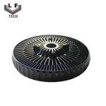 Buy cheap ADC12 Powder Coating Aluminium Die Castings Sun Flower Aluminum CPU Heat Sink product