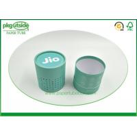 Rigid Cardboard Tube Boxes Colorful Printed Stamping Logo High End Durable
