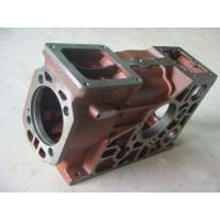 Buy cheap Red & Black Casting Iron Diesel Engine Cylinder Block For Construction Machinery Engine product