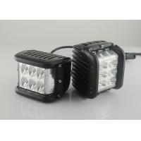 "Buy cheap 45W 4.5"" Square Vehicle LED Work Lights 3800 Lumen , Black Housing Colors product"