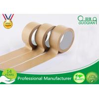 Buy cheap Automatic Adhesive Custom Printed Kraft Paper Tape For Packing / Wrapping product