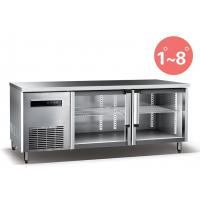 Buy cheap Refrigerated Work Table For Kitchen 660L Commercial Refrigerator Freezer R134a Fan Cooling product