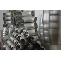 Buy cheap Alloy / Carbon Stainless Steel Pipe Fittings Welded , Steel Tube Fittings 45° Elbow product