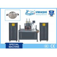 Buy cheap Hwashi CCC/ CE Qualified Horizontal Type Stainless Steel Pot Ear Welding Machine with one year warranty product
