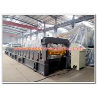 Buy cheap Metal Colour Coated Roofing Sheet Making Machine for Rolling Max. 0.8mm Thickness Steel or Aluminum Sheets in Coils product