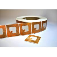 Buy cheap Customized EAS RF Label , 8.2 MHz Anti Theft Self Adhesive Labels for shops product