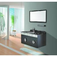 Buy cheap SS Single Sink Wall Bathroom Furniture Cabinet (M-910) product