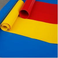 Buy cheap Polyester PVC Tarpaulin Fabric Used For Truck And Side PVC Curtain product