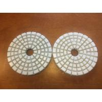 Buy cheap High Effiective 4'' Dry Diamond Polishing Pads With 5 Steps 50# 100# product