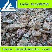 Metallurgical grade fluorspar (metspar) Low Purity CaF2 40% manufacturing aluminium and stainless steel
