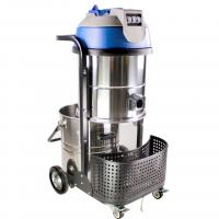 Buy cheap 80L 3000W 32kg Durable Industrial Wet Dry Vacuum Cleaners for Office , Retail Shop product