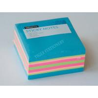 Buy cheap Three Neon color sticky note cube sticky memo pad  3X3 inc for office assistant school business famaily product
