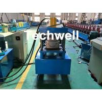 Buy cheap Custom Made Half Round Gutter Cold Roll Forming Machine For 15 Stations Forming Stage product