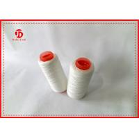 Ring Spun Polyester Paper Cone Yarn For Knitting Gloves Wear Resistant