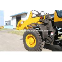 Quality SINOMTP 938 Wheel Loader With 400mm Ground Clearance And 4.83s Boom Lifting Time And 1.8m³ Bucket for sale