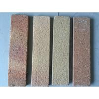 Quality Sandblast Changeable Color Exterior Thin Brick Customized For Building Wall Materials for sale