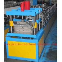 Buy cheap Corrugated Color Steel Roof Ridge Cap Roll Forming Machine , Trapezoidal Profile Roll Former product