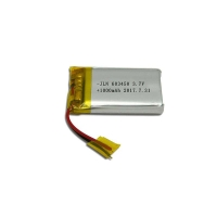 China Lithium Cobalt Oxide Cell 1000mAh 3.7 Volt Battery Pack on sale
