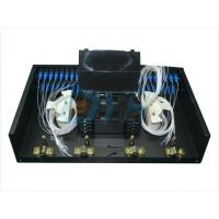 Buy cheap 48 Core Cold Rolled Steel Fiber Optic Odf , SC Connector Optical Patch Panel product