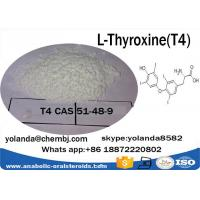 Buy cheap CAS51-48-9  Anabolic Steroid Powder L-Thyroxine / T4  for Weight Loss product
