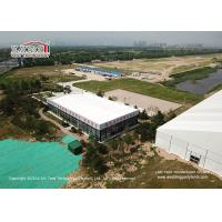 Buy cheap Aluminum Cube Clear Span Tents with Thermal Roof Cover for Office House product