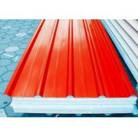 Buy cheap Orange Prepainted Galvanized Steel Coil With Hot Dipping Processe product