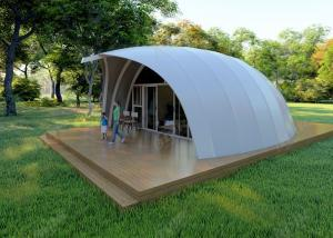 China Prefab Big Bed House New Design PVDF Material Waterproof Tent Hotel For 2 People on sale