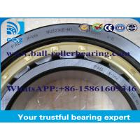 Quality High Speed Rotation Brass Cage Cylindrical Roller Bearing For Automotive / Rolling Mill for sale