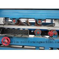 Buy cheap Colored Steel PU Sandwich Panel Production Line , Roof Panel Roll Forming Machine product