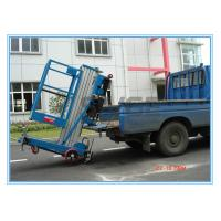 Buy cheap Window Cleaning Operate Elevated Work Platforms , 8 Meter Height Vertical Mast Lift product