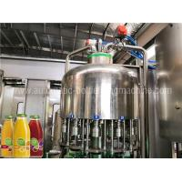 Buy cheap Automatic Juice Flavor Water Filling Machine , Water Bottling Equipment / Line from wholesalers