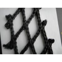 Buy cheap Black Folding Decorative Fishing Net / Fish Catching Nets In Deep Sea product