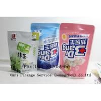 Stand Up Pouch Personal Care Packaging Bag For Jelly / Pet Food and Washing Powder