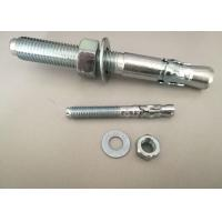 Buy cheap Hardware Fasteners Expansion Anchor Bolt Wedge Anchors With White Zinc Plated product