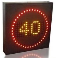 Buy cheap Variable Speed Limit Signs Energy Saving , Endurable Highways Led Street Signs product