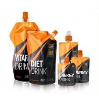Buy cheap Beverage Plastic Bag Fruit Juice Stand Up Liquid Pouches Water Drinking from wholesalers