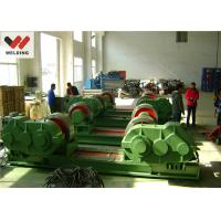 Buy cheap Fit Up And Assembly Pipe Welding Rotator , Bolt adjustable Welding Turning Roller HGK10 For Tank product