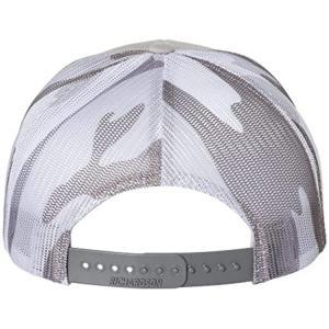 Buy cheap 56cm Flat Brim Snapback Hats Plain Blank Black Trucker Cap product