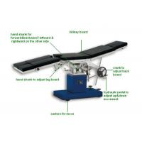 Buy cheap Stailess Steel Gynecology Operating Room Tables Manual Examination Bed (ALS-OT002m) product