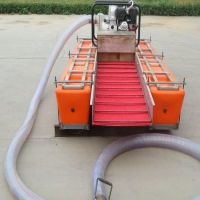 Buy cheap 4 Inch Steel Small Gold Dredger 0.5m-1.2m Engine Power 6hp 6m Pipe product