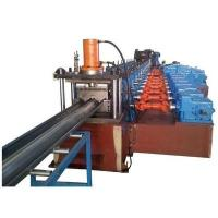 Buy cheap 3 Waves Highway Guardrail Roll Forming Machine Use Universal Coupling Export to Poland European Countries product