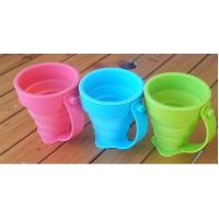 Buy cheap Coffee Drinking Silicone Drinking Cups Food Grade With Customized Logo 170ml product