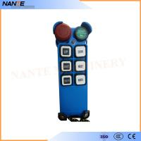 China Single Speed Blue Color Wireless Hoist Remote Control Used For Industrial Work wholesale