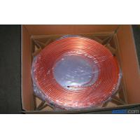 Buy cheap T2 Split Air Conditioner Coil , Oval Mill Polished Copper Pipe Coil H60 product