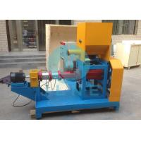 Buy cheap 350 ~ 450kg/h Floating Fish Feed Pellet Making Machine Single Screw Extruder product