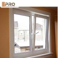 Buy cheap Thermal Break System Aluminium French Tilt And Turn Window With Toughened Glass product