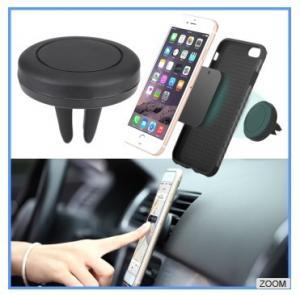 Buy cheap Peso ligero de goma magnético del tenedor del teléfono del soporte del coche de la salida de aire para las películas de observación product