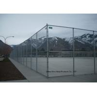 Quality Hot Dipped Galvanized Steel Wire Fencing , Residential Metal Chain Link Fence for sale