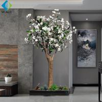 Buy cheap Modern Design Artificial Flower Tree , Artificial Frangipani Tree 2m Height product